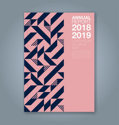 Cover annual report 1203 vector
