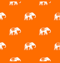 Elephant pattern seamless vector