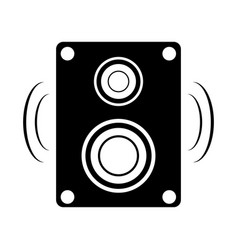 isolated speaker icon vector image