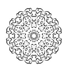 mandala arabic1 vector image