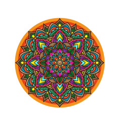 Mandala vintage wallpaper vector