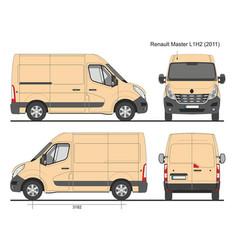 Renault master l1h2 2011 vector