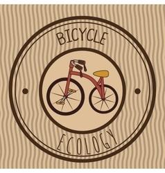 Ride a bike graphic design vector