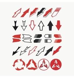 Seth arrow decorative2 vector image