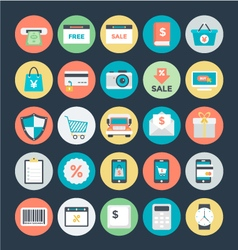 Shopping and Commerce Icons 2 vector image