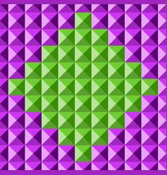tile seamless diamonds vector image