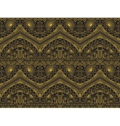 Vintage arabic pattern vector