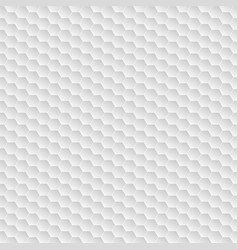 white hexagon seamless modern background vector image