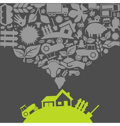 Agriculture2 vector image