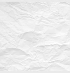 gray crumpled paper texture design vector image