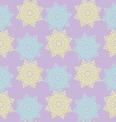 Bright colored seamless pattern of openwork stars vector