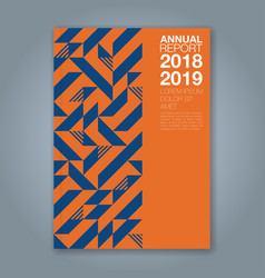 Cover annual report 1208 vector