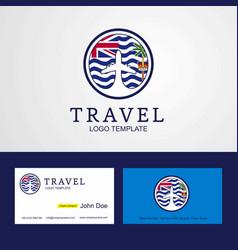 Travel british indian ocean territory creative vector