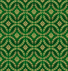 Decorative ornamental seamless pattern vector image vector image