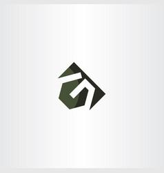 g letter logo sign logotype element vector image