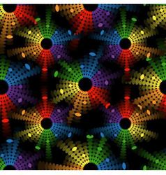 seamless abstract pattern with colored circles-equ vector image vector image