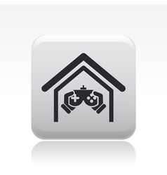videogame icon vector image