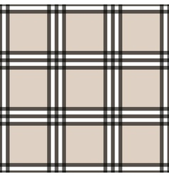 Tartan seamless pattern beige and white vector image vector image