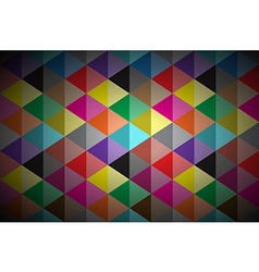 Abstract background colored triangle vector