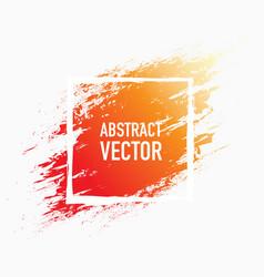 abstract splash paint vector image