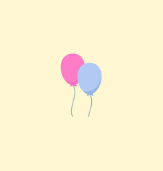 balloon icon flat element of vector image