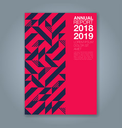 Cover annual report 1213 vector