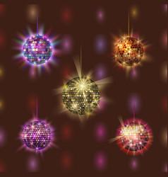 Disco ball discotheque music party night club vector