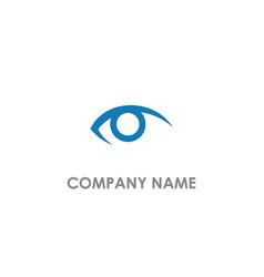 eye see logo vector image