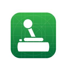 Joystick icon vector