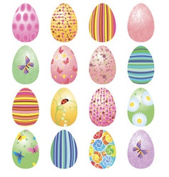 eggs set vector image vector image