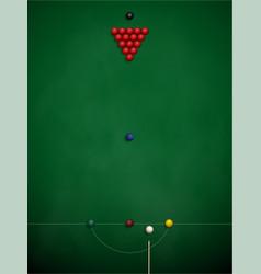 Billiard balls on table eps 10 vector
