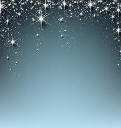 Christmas starry background vector