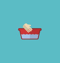 Flat icon hand wash element vector