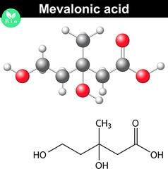 Mevalonic acid molecule vector