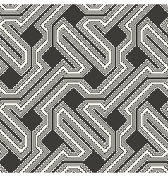 ornate striped textured geometric background vector image