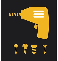 Screwdriver design vector