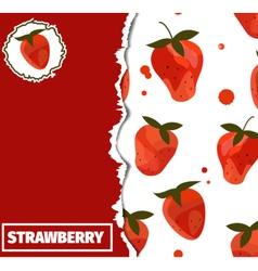Strawberrycover vector