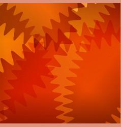 orange futuristic background with curve lines vector image