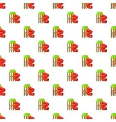 Slide pipe pattern cartoon style vector image