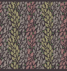 Colorful abstract floral seamless pattern vector