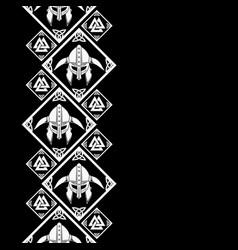 new pattern 2019 vikingl 0010 vector image