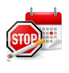 No smoking day icon vector