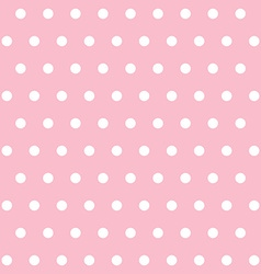 popular pink vintage dots abstract pastel pattern vector image