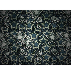 abstract grunge star background vector image