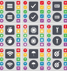 Apps tick buy apple processor wrench wi-fi vector