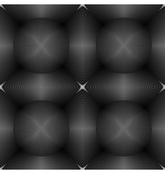 Design seamless monochrome pattern vector image