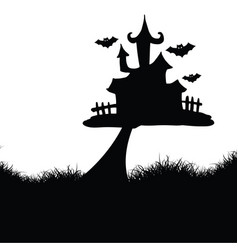 Hallowen background vector
