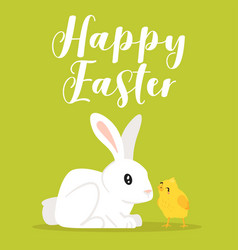 happy easter design template vector image