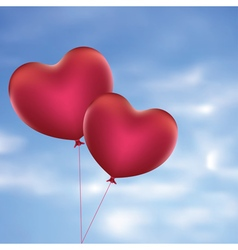Heart Shaped Balloons4 vector