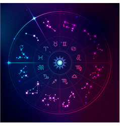 horoscope signs vector image